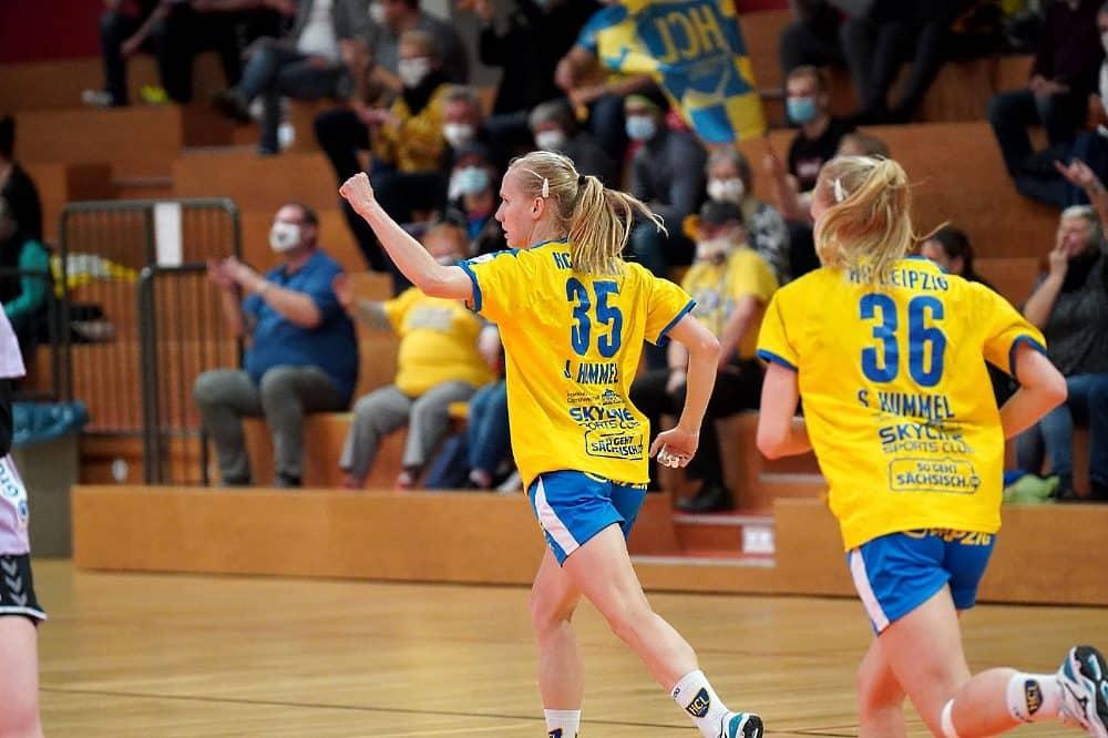 Die Hummels-Zwillinge. Quelle: HC Leipzig e.V.