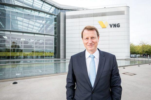Ulf Heitmüller, Vorstandsvorsitzender der VNG AG mit Hauptsitz in Leipzig (Copyright: Eric Kemnitz / VNG AG)