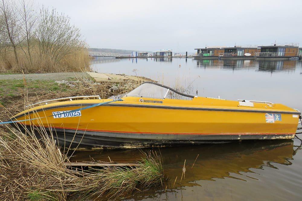 Sportboot © Polizei Sachsen