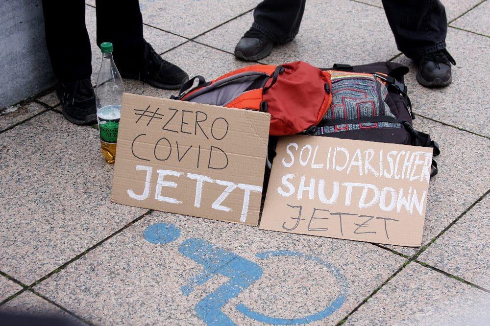 #ZeroCovid Demo