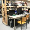 Where the magic happens: Im Hauptquartier der Dezentrale e.V. werden die Computer aufgearbeitet und verteilt. Foto: Birthe Kleemann