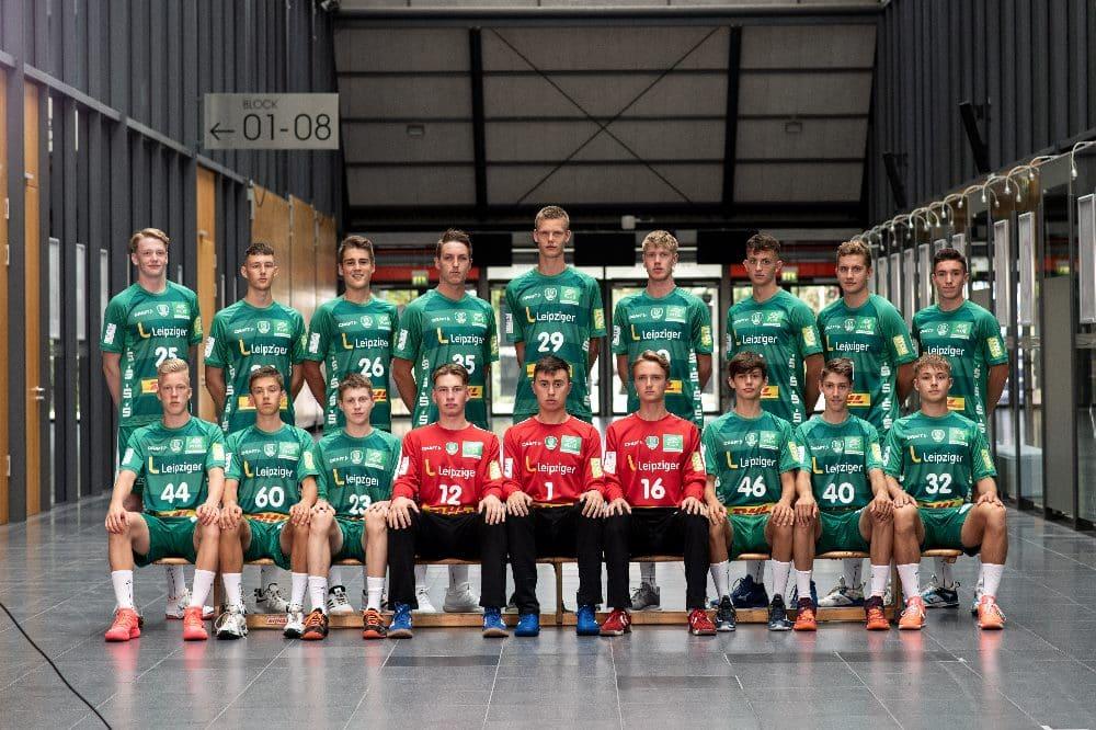 Mannschaftsfoto B-Jugend. Quelle: Fotohaus Klinger