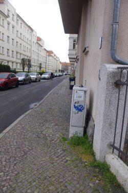 Die Neumannstraße nach dem Aktivwerden des Ordnungsamtes. Foto: Bürgerverein Anger-Crottendorf e.V.