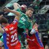 Die SC DHfK-Handballer - hier Maciej Gebala - fanden gegen Balingen-Weilstetten die nötigen Lücken. Foto: Jan Kaefer
