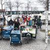 Die radelnden Helfer/-innen beim ADFC-Umzug. Foto: Anne-K. Hutschenreuter