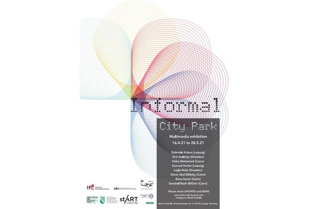 Ausstellungsplakat: Informal City Park.