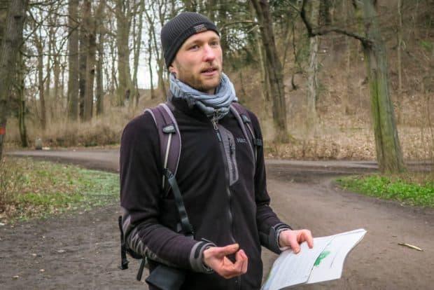 Leiter der Tour: Falko Haak. Foto: Tilly Domian