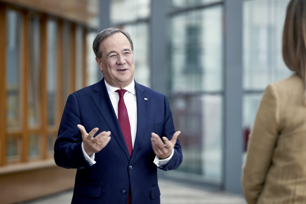 CDU-Kanzlerkandidat Armin Laschet. Foto: Laurence Chaperon