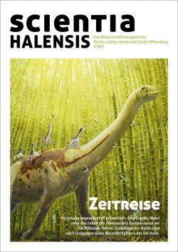 """Cover der neuen Ausgabe der """"scientia halensis"""" Foto: Joschua Knüppe"""