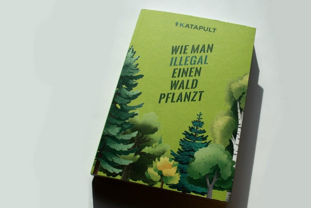 Wie man illegal einen Wald pflanzt. Foto: Ralf Julke