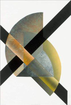Susanne Werdin, puer robustus III, Holzdruck, 2020, 97 x 65,5 cm. Foto: VG Bild Kunst Bonn