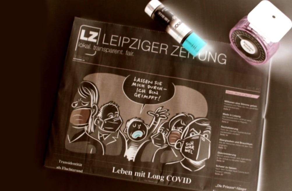 Leipziger Zeitung Nr. 90: Leben mit Long COVID. Foto: LZ