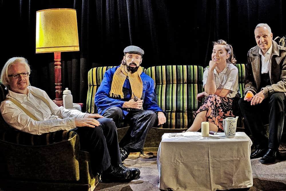 Claudius Bruns, August Geyler, Josefine Heidt, Armin Zarbock. Foto: Robert Amarell