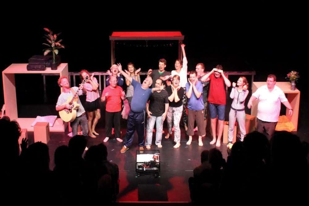 Der inklusive Theaterclub Melo lädt zu einer offenen Probe über Zoom am 5. Mai 2021. Quelle: Lebenshilfe Leipzig e.V.