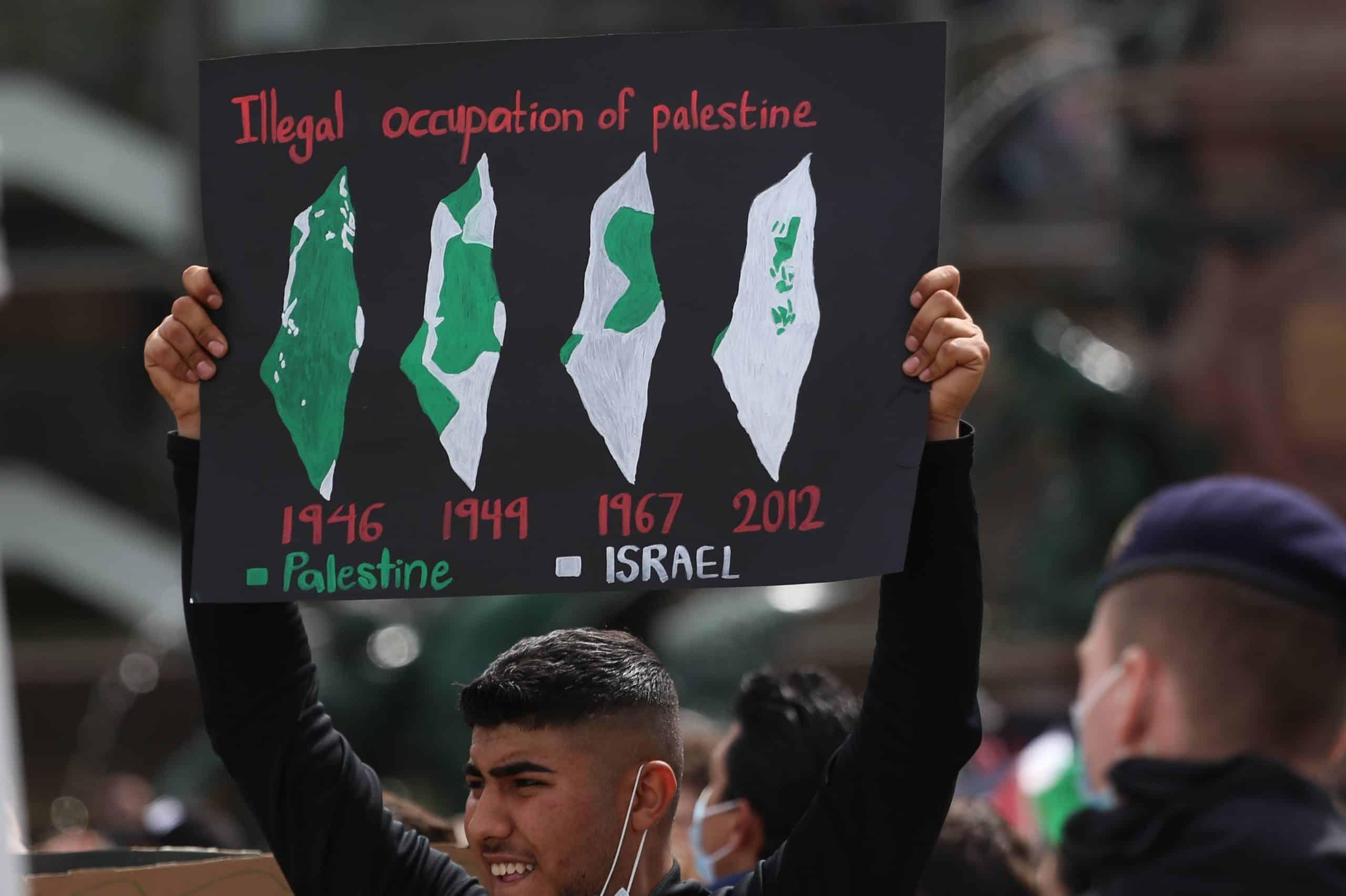 Eingebildete Realität: 2005 räumte Israel zahlreiche Siedlungen trotz der Ablehnung durch die palästinensischen Führung. Foto: Alexander Böhm