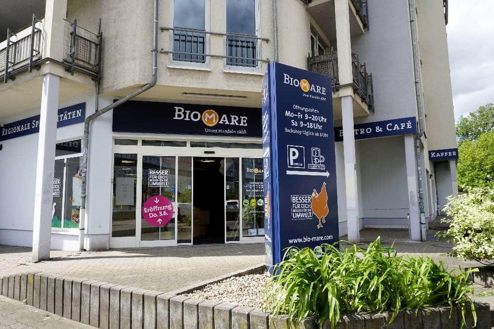 Die neue Filiale von Biomare in Grosszschocher. Quelle: Biomare
