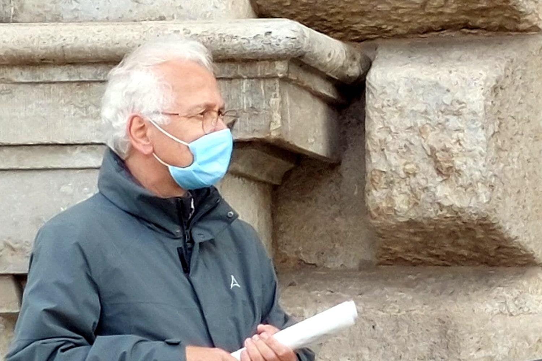 Christian Wolff (Ex-Pfarrer, Thomaskirche). Foto: LZ