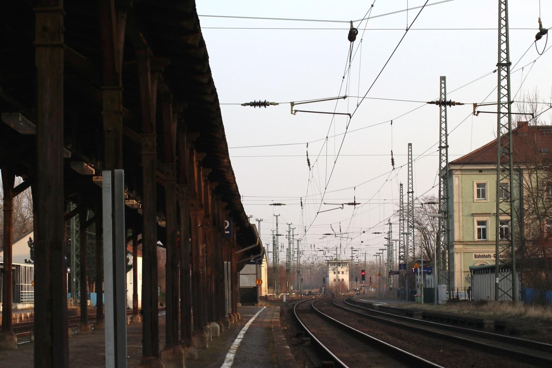Der Bahnhof in Neukieritzsch - Ort eines Überfalls an dem Henry A nicht beteiligt war. Foto: Michael Freitag/LZ