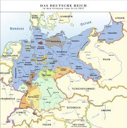 Deutschland in den Grenzen vom 31.12.1937. Wikipedia Gemeinfrei, Autor: Ziegelbrenner