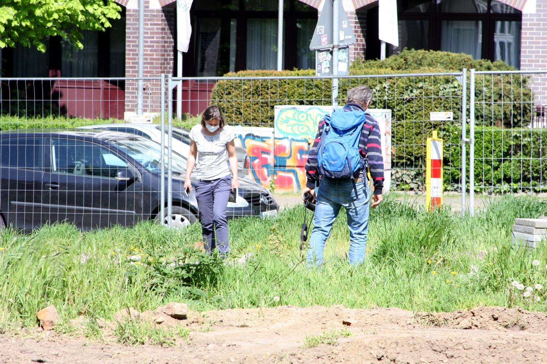 Die Suche nach der Zauneidechse am 11. Mai blieb sie erfolglos. Foto: LZ