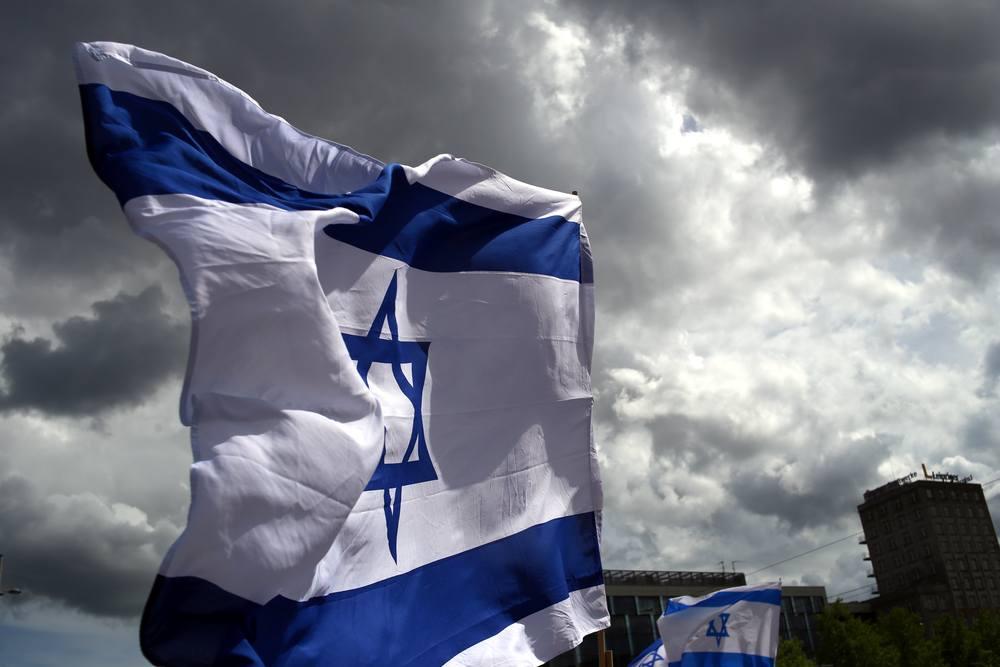Gegen jeden Antisemitismus - Solidarität mit Israel. Foto: Alexander Böhm