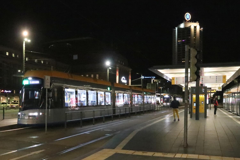 ÖPNV LVB am Hauptbahnhof. Foto: Michael Freitag