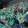 Handball, 1. Bundesliga, Saison 2020/ 2021, 31. Spieltag: SC DHfK Leipzig vs. THW Kiel am 27.05.21 in der Quarterback Immobilien Arena Leipzig. Im Bild: Erstmals durften wieder 1000 Zuschauer, Fans in die Arena