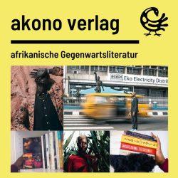 Das Profil des Akono Verlags. Grafik: Akono Verlag