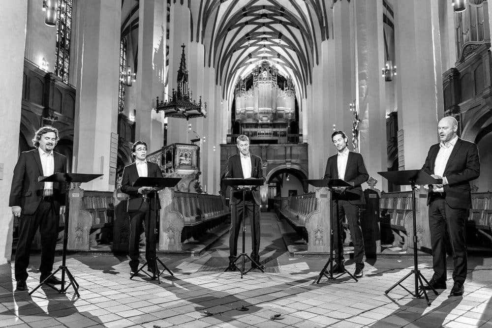 amarcord im Eröfnungskonzert. Foto: DREIECK MARKETING / Sören Wurch