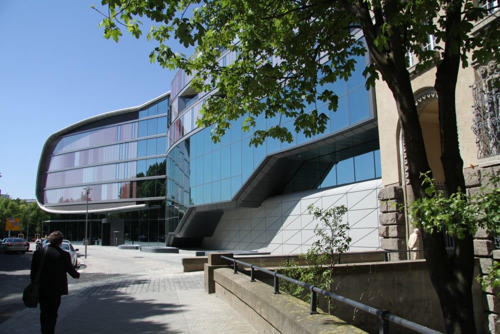 Der jüngste Erweiterungsbau von 2011. Foto: Matthias Weidemann