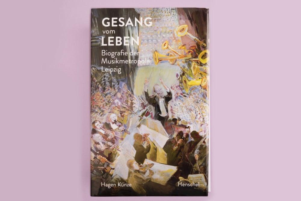 Hagen Kunze: Gesang vom Leben. Cover: Seemann Henschel