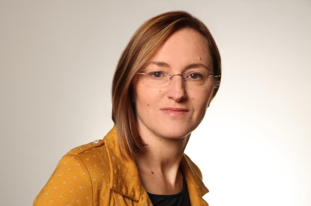 Manuela Grimm. Pressefoto: DGB Leipzig-Nordsachsen