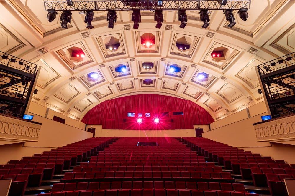 Der neue Zuschauersaal der Musikalischen Komödie. Foto: Tom Schulze Foto Tom Schulze tel. 0049-172-7997706 mail post@tom-schulze.com web www.tom-schulze.com