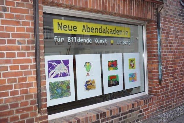 Das fertig gestaltete Schaufenster. Foto: Leipziger Bündnis gegen Depression e.V.