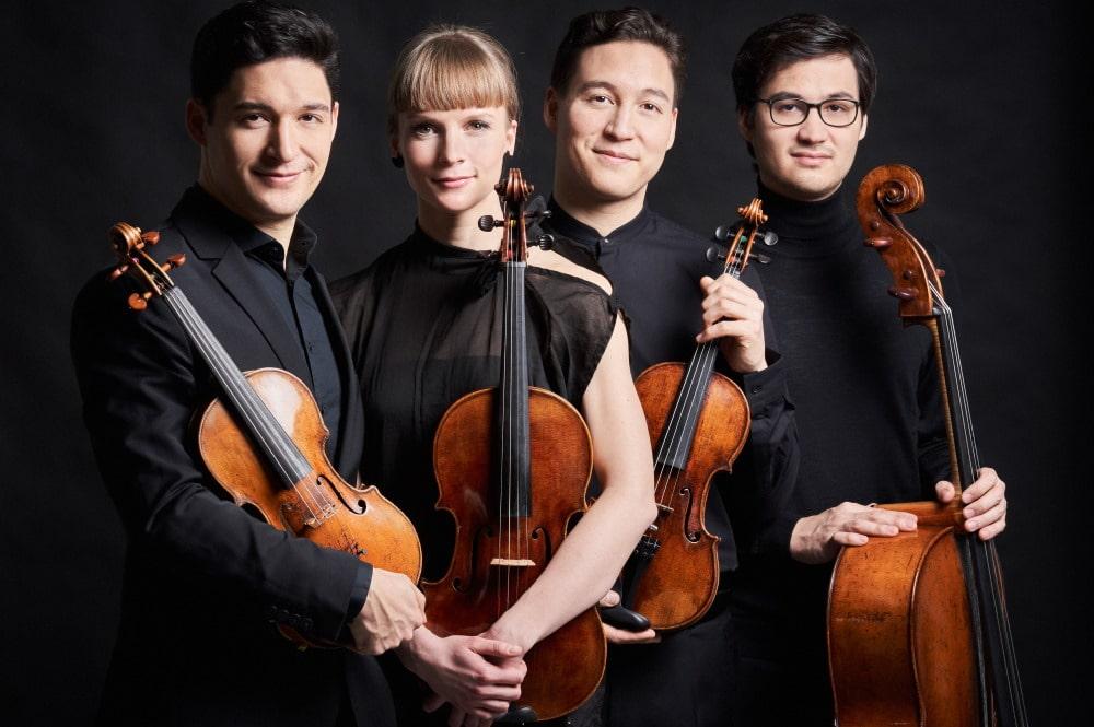 Das Schumann Quartett. Foto: Kaupo Kikkas