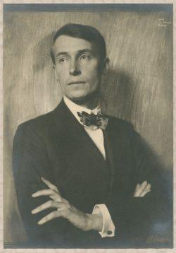 Einerf derf bekanntesten jüdischen Verleger aus Leipzig: Kurt Wolff. Foto: Frank Eugene, um 1913. Deutsches Literaturarchiv Marbach