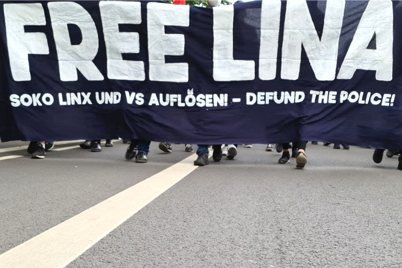 Aktuelle eines der Themen im Leipziger Süden: der anstehende Protest um Lina E. Foto: Leon Eisfelder-Mylius/LZ