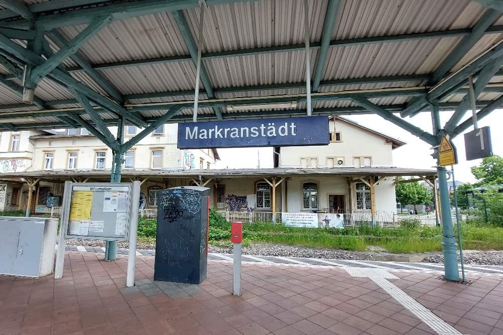 Könnte künftig zum S-Bahn-Haltepunkt werden: Bahnhof Markranstädt. Foto: LZ