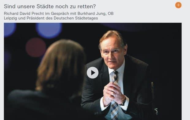 Burkhard Jung bei Precht. Screen: ZDF Mediathek