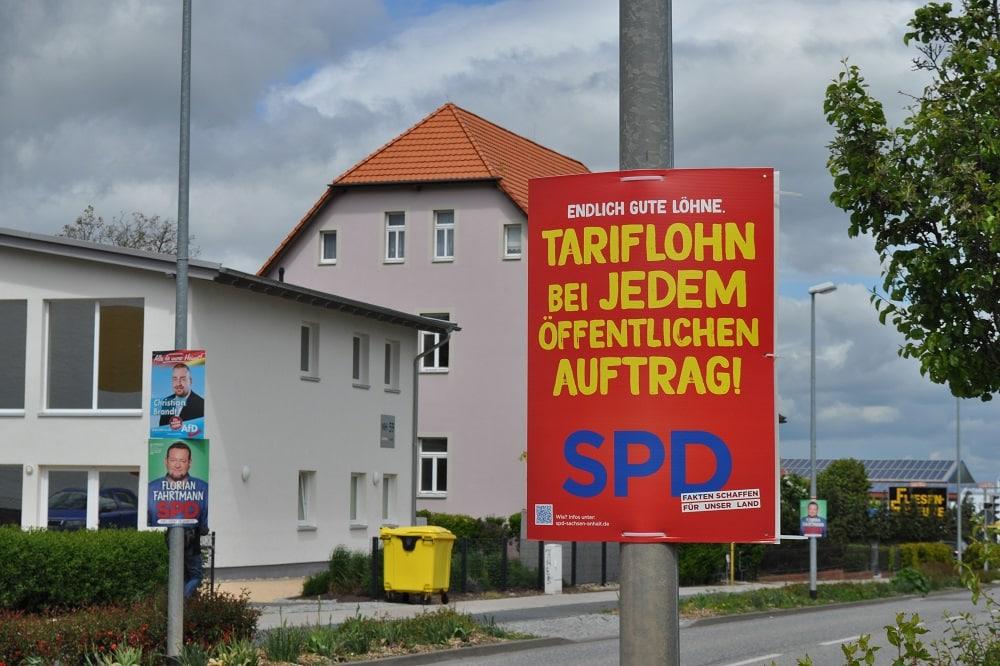 Landtagswahl Sachsen-Anhalt 2021. Foto: LZ