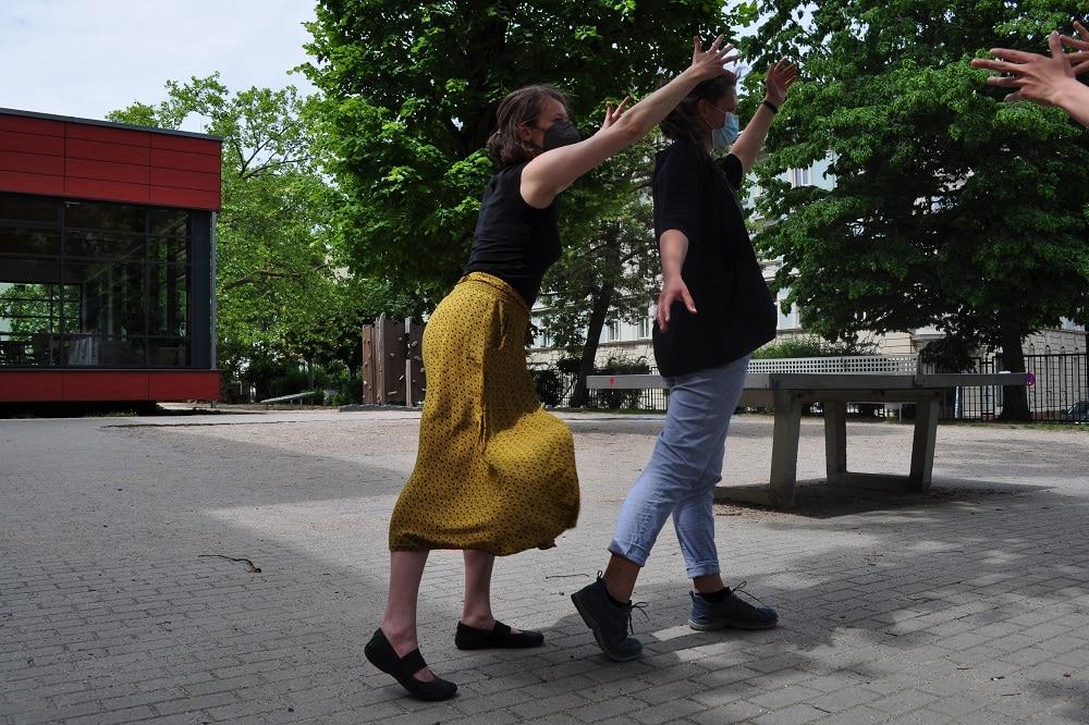 Workshops beim ersten analogen Treffen des Stadt-Theater-Zukunft-Experiments. Foto: Antonia Weber