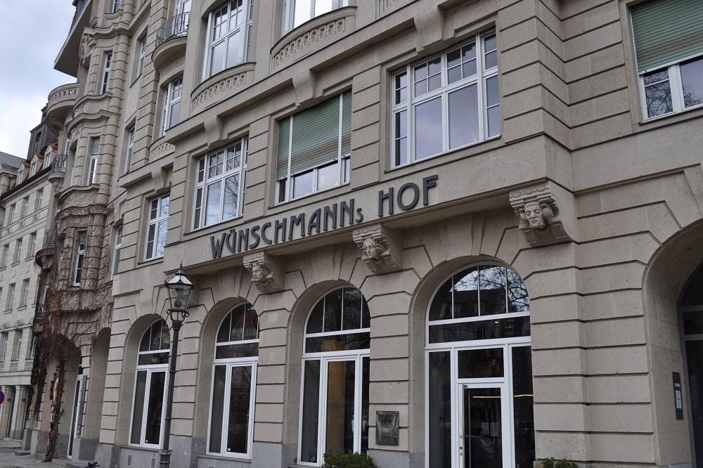 Das Institut für Kunstgeschichte im Wünschmanns Hof am Dittrichring. Foto: Antonia Weber