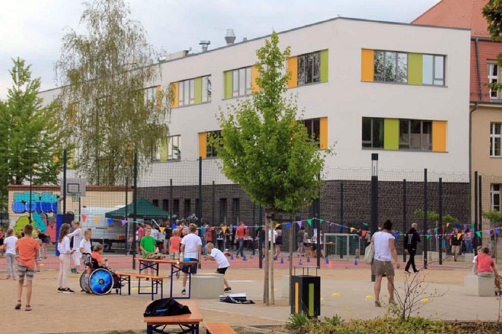 Das Freie Gymnasium Borsdorf kam dank engagierter Eltern, Kinder und Lehrender gut durch die digitalen Herausforderungen der Pandemie. Foto Sascha Bethe