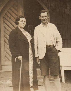 Theodor und Beate Kranz im Jahr 1941. Foto: Yad Vashem