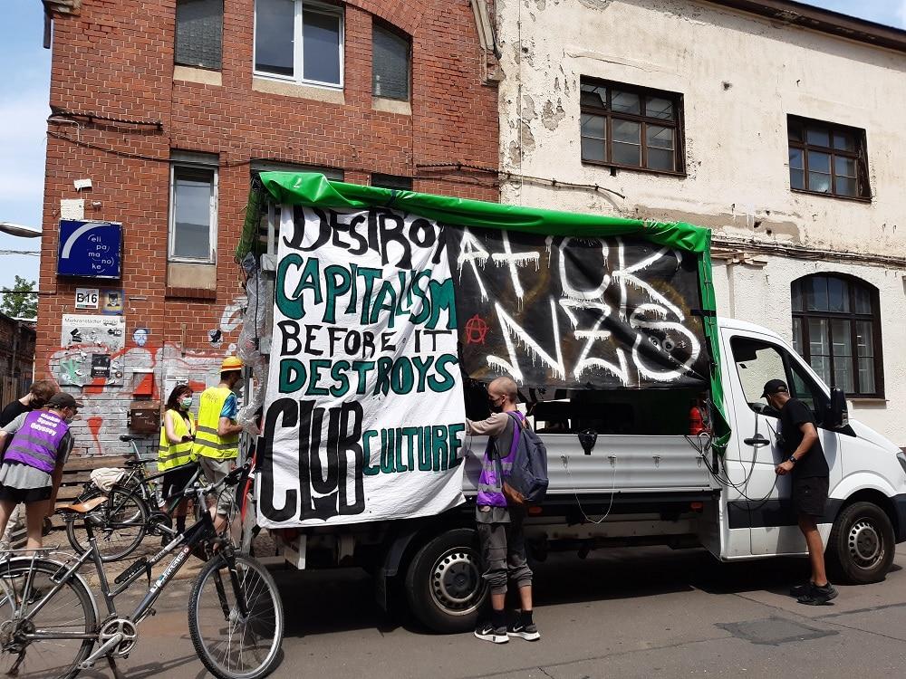 Demo gegen Kulturnot LiveKommbinat, 19. Juni 2021 Fotos: Luise Mosig