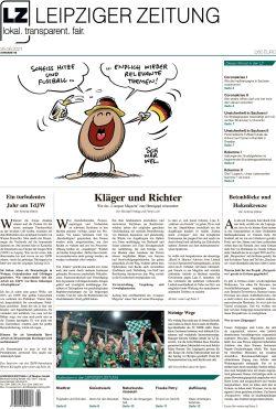 Die Leipziger Zeitung, Ausgabe 92. Seit 25. Juni 2021 im Handel. Foto: LZ