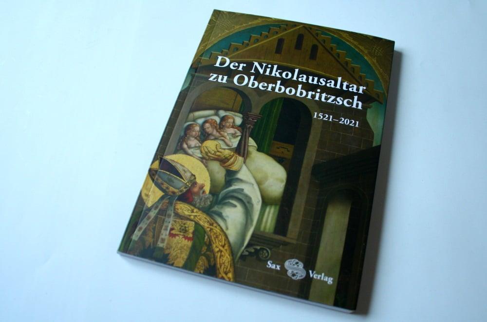 Der Nikolausaltar zu Oberbobritzsch. Foto: Ralf Julke