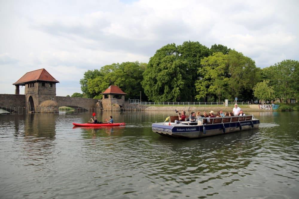 Auch Leipziger Bootsfahrten sind beliebt. Foto: LTM / Andreas Schmidt