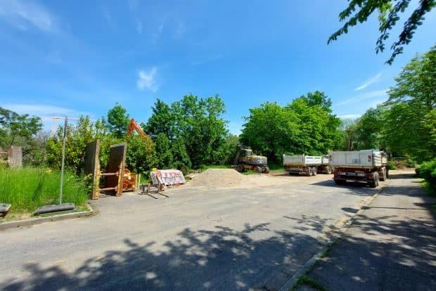 Blick ins Baugelände der Parkstadt Dösen. Foto: LZ