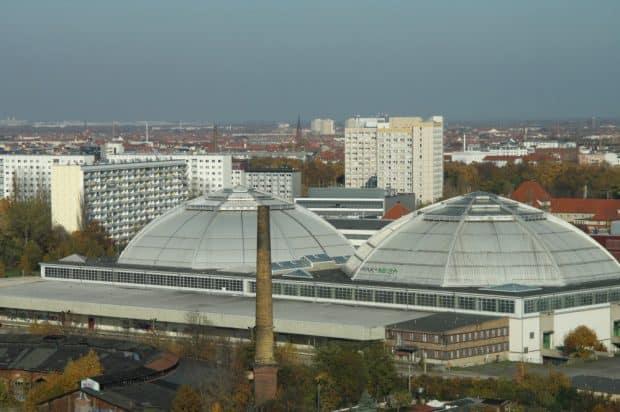 Die Kuppeln der Großmarkthalle. Foto: Matthias Weidemann
